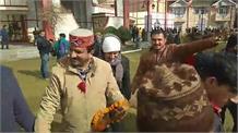 Live: देखिए बीजेपी प्रदेश अध्यक्ष राजीव बिंदल की ताजपोशी पर जश्न की तस्वीरें