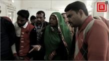 पटवारी ने नशे में धुत मंदिर में मचाया उत्पात, आरती की थाली को फेंका