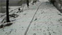 Haryana में जबरदस्त ओलावृष्टि, फसलें तबाह...सड़कों पर बिछी बर्फ की चादर