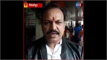 #Mirzapur: विंध्य कॉरिडोर की नाप-जोख का पंडा समाज ने किया विरोध, दुकानें रही बंद