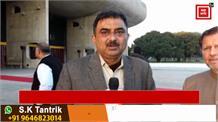 विधानसभा के ट्रेनिंग शिविर में पहुंचे Arvind Sharma, देखिए खास बातचीत