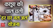 #Madhepura:'हर घर नल जल'योजना की खानापूर्ति,पानी की टंकी के निर्माण पर लगी रोक
