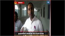 #Lucknow: गंदे पानी की बोतलें लेकर विधानपरिषद पंहुचे सपा MLC, बोले- BJP को तेजाब नजर आ रहा मां गंगा का पानी