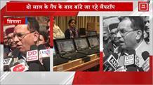 शिमला में 100 मेधावी विद्यार्थियों को दिए गए लैपटॉप, देरी के लिए शिक्षा मंत्री ने मांगी माफी