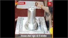 Maha Shivaratri के मौके पर भोलेनाथ की शरण में शिवभक्त, दुग्धाभिषेक कर कर रहे पूजन अर्चन