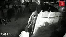 कांग्रेस के दो गुटों में गैंगवार, CCTV में कैद घटना