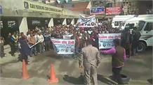 Live: शिमला में चकौता धारकों की रोष रैली