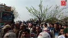 चड़ीगढ़ -मनाली NH पर दो ट्रकों में भयंकर टक्कर, 4 घंटे तक लगा लंबा जाम