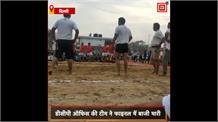 दिल्ली पुलिस सप्ताह में कबड्डी लीग का आयोजन, DCP ऑफिस की टीम ने फाइनल में बाजी मारी