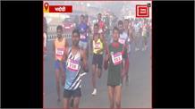 भदोही हाफ मैराथन में छाया देसी धावक, केन्या के धावक को चटाई धुल