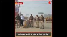 #Delhi हिंसा के बाद पश्चिमी यूपी में बढ़ी सुरक्षा, फोर्स ने किया फ्लैग मार्च