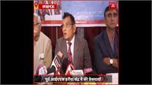 #Lucknow: पूर्व IAS हरीश चंद्र ने की प्रेसवार्ता, कानपुर में दलित परिवार पर हुए हमले को लेकर उठाए सवाल