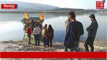 गोविंद सागर झील का घटता जलस्तर 8 पंचायतों के बाशिंदों पर पड़ रहा भारी