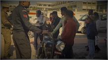 Holi पर ट्रैफिक पुलिस के निशाने पर 'बुलेट राजा'...तीन बाइकों के कटे 86 हजार का चालान