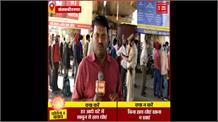 LockDown दिल्ली से संतकबीरनगर आए मजदूर, प्रशासन ने स्क्रीनिंग कर खिलाया खाना