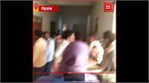 Rohtas में पुलिस की मजदूर के साथ गुंडा गर्दी,  Video Viral