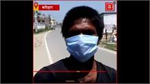 Lockdown: भूख से बिलबिलाते मजदूरों में Police ने बांटा खाने का सामान
