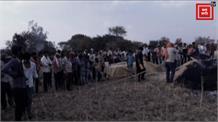 एक बार फिर जल गई किसान की मेहनत, 40 एकड़ फसल आग से जलकर खाक