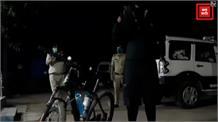 लॉकडाउन का जायजा लेने DIG खुद उतरे सड़क पर, साइकिल से किया निरीक्षण