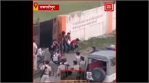 Samstipur में युवकों ने Lockdown का किया उल्लंघन, Police ने बीच सड़क पर कराई उठक-बैठक