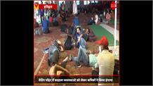 #Haridwar के वेडिंग प्वाइंट में व्यवस्था बदहाल, Delhi से पहुंचे प्रवासियों ने किया हंगामा