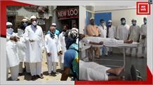 एमपी में अलग-अलग अंदाज में मनी ईद, कहीं सफाई कर्मियों पर बरसे फूल तो कहीं हुआ रक्तदान