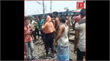 Bihar:प्रशासन की कुव्यवस्था से नाराज प्रवासी श्रमिकों ने किया हंगामा.