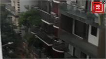 दिल्ली में झमाझम बारिश, भीषण गर्मी से मिली राहत
