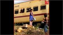 Gaya:श्रमिक ट्रेन से घर वापसी कर रहे प्रवासियों को मासूम बच्चों ने पिलाया पानी