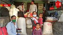#Almora: #Lockdown में काम हुआ बंद, नेपाली प्रवासी घर जाने के लिए व्याकुल