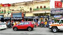 राजधानी में ट्रैफिक व्यवस्था हुई बेपटरी