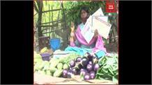 गरीबी और मजबूरी से हारी चैंपियन तीरंदाज,सड़क किनारे सब्जी बेचने को मजबूर