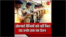 जवानों की सुरक्षा को लेकर बड़ी लापरवाही,बिना मास्क और ग्लव्स के कर रहे ड्यूटी