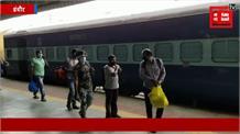 इंदौर से कोलकाता के लिए रवाना हुई ट्रेन, लोगों ने कहा 'वाह इंदौर', कमाल के हैं CM शिवराज