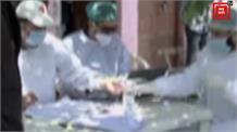 बारामूला के कुंजर पीएचसी से हुई सैंपल कलेक्टिंग मोबाइल वैन की शुरूआत