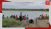 तालाब में नहाने गए युवक की डूबने से मौत, पंजाब केसरी पर देखिए लाइव रेस्क्यू