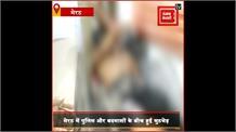 मेरठ पुलिस ने शातिर बदमाश दीपक सिद्धू को मुठभेड़ में किया ढेर, बदमाश पर दर्जनों मुकदमे थे दर्ज