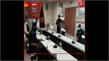 बाढ़ से निपटने की तैयारियों का जायजा लेने NDRF कैंप पहुंचे केंद्रीय गृह राज्य मंत्री NityanandRai