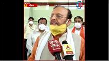 मंत्री सुरेश खन्ना ने किया जिम्स अस्पताल का निरीक्षण, कहा- 'हमने कोरोना को कंट्रोल किया'