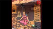 योगी के मंत्री नंद गोपाल नंदी ने गली के मकानों पर पुतवाया भगवा रंग, विवाद के बाद दर्ज हुई FIR