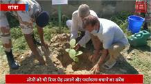 आईटीबीपी जवानों ने 1500 पेड़ लगाकर पर्यावरण बचाने का दिया संदेश