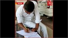 बहन की 85 प्रतिशत किडनी हुई खराब तो भाई ने CM Yogi को लिखा खून से पत्र, मांगी मदद
