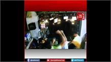 दबंगों के हौसले बुलंद:मामूली विवाद में दुकानदार को बेरहमी से पीटा, CCTV में कैद हुई घटना
