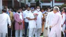 Dushyant Chautala ने गुरुग्राम में तो धनखड़ ने भाजपा कार्यालय पर फहराया तिरंगा