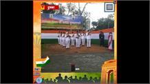 राज्यपाल द्रौपदी मुर्मू ने दुमका में फहराया राष्ट्रीय ध्वज, बताईं सरकार की उपलब्धियां