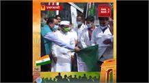 Uttarkashi में धूमधाम से मनाया आजादी का जश्न, उच्च शिक्षा मंत्री धन सिंह रावत ने किया झंडारोहण .