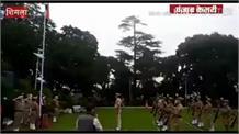 राज्यपाल ने राजभवन में ही सादगी से मनाया स्वाधीनता दिवस समारोह