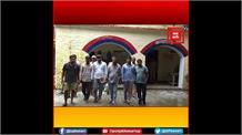 मुठभेड़ के बाद 6 आरोपी गिरफ्तार, बड़ी वारदात को अंजाम देने की फिराक में थे