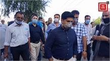 डीसी बांदीपोरा ने किया पीएससी अष्टांगू का औचक निरीक्षण... लोगों की समस्याएं हल करने का दिया आश्वासन