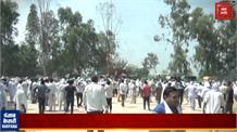 Jind में किसानों का हल्ला-बोल, नेशनल हाईवे 352 पर किया 'कब्जा'